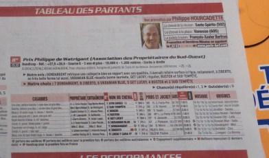 Pronostic 8ème course - Mont de Marsan - 3 septembre 2015
