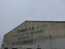 Carrière de granit - Entreprise Traineau - 18 janvier 2016