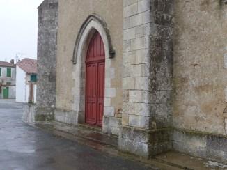 Eglise de Sainte-Marie - Portes rouges - 28 janvier 2016