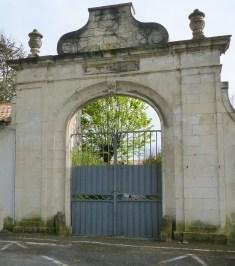 Saint-Martin de Ré - Portail de l'ex couvent des Capucins - 19 avril 2016