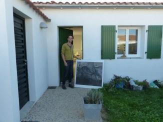 Arno, locataire à Loix - 17 octobre 2016