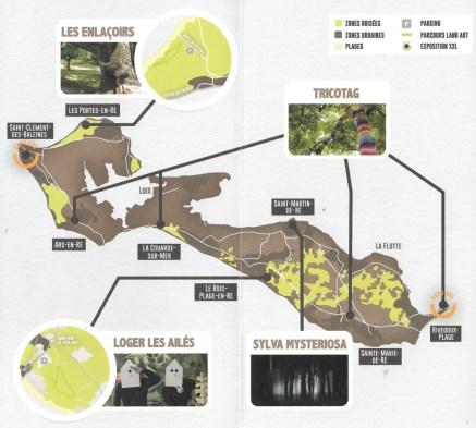 Ile de Ré - Mois de l'environnement 2017 - Programme Land Art