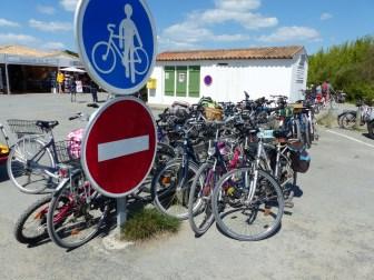 Pointe Phare des Baleines - Vélos - 18 avril 2017
