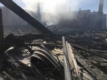 Ile de Ré - Incendie Centre de transfert des déchets - 7 octobre 2017