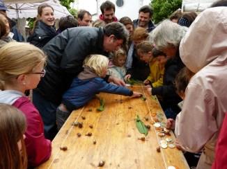 Loix - 1ère course escargots - 19 mai 2013