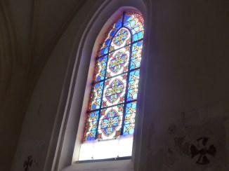 Ars-en-Ré - Travaux église - Vitraux - 18 juin 2018