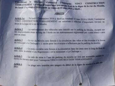 Rivedoux - Arrêté municipal -