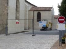 Ars-en-Ré - Eglise - Drainage 1ère phase Sud - 7 septembre 2018