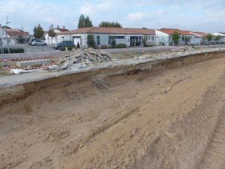 Rivedoux-Plage - Travaux digue - 18 octobre 2018