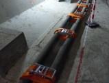 Pont de l'île de Ré - Réparation câble - Sangles - 20 décembre 2018