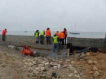 Digue de Rivedoux - Réunion chantier - 5 décembre 2018