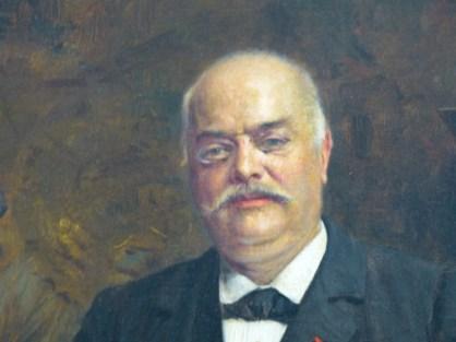 Ernest Cognacq - Huile sur toile, datée 1900