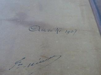 Carte des marais rétais - 1913