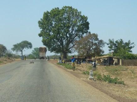 Sur la route d'Arbollé