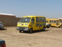 Sortie du Magic Bus du service des douanes - 14 février
