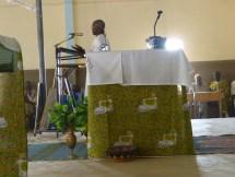 Messe à Arbollé, 16 février
