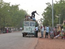 Taxi brousse, Burkina Faso