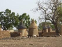 Greniers au Burkina Faso