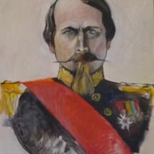 Napoléon III - Peinture de Jean-Jacques Vergnaud