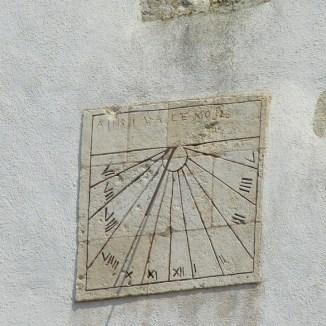 Cadran solaire Loix