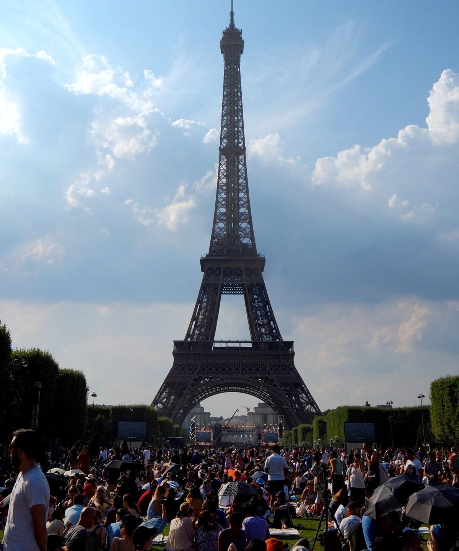 Gute oder schlechte Idee? Der Champs de Mars am 14 Juli