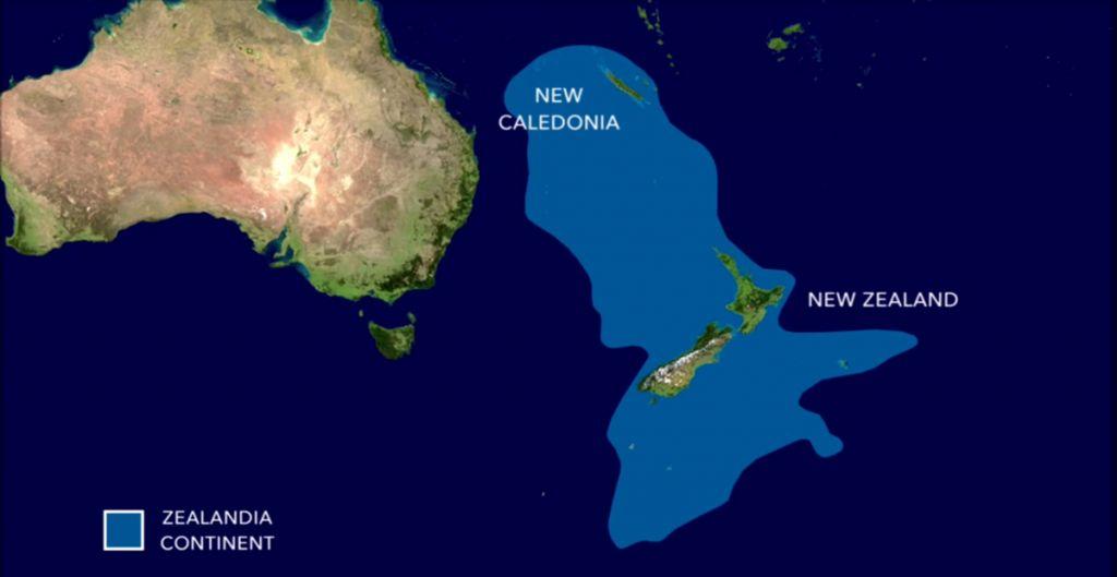 Zealandia-australie
