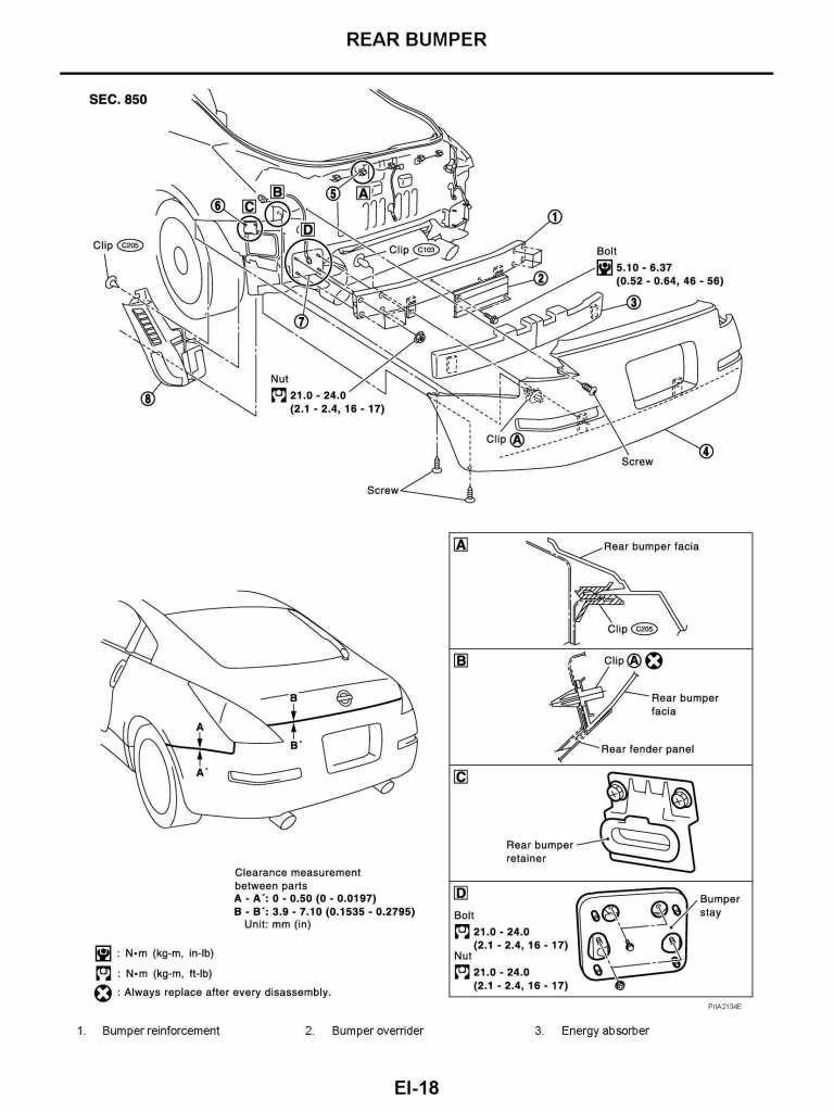 Service manual [2005 Nissan 350z Front Bumper Removal