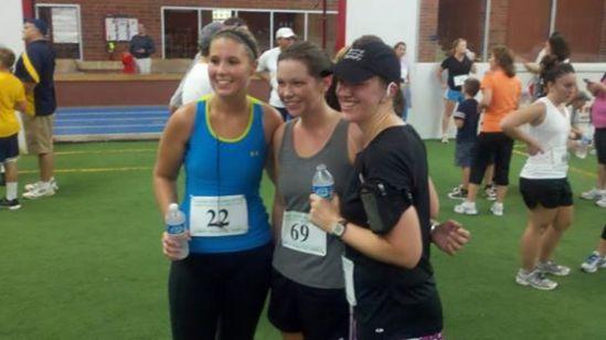 Lauren, Jess, & Tanya after