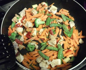 Stir Fry in Pan