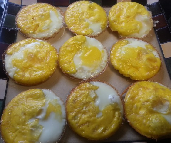 Eggs cooling