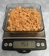 Weigh entire batch