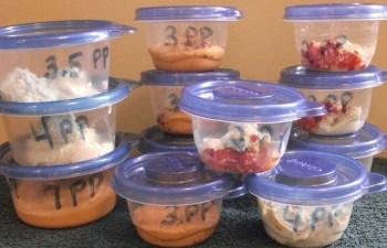 Separate dips into individual servings!