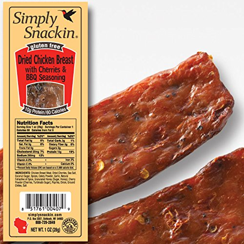 BBQ Cherry Chicken Jerky
