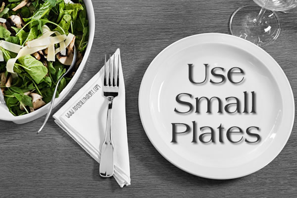 Use Small Plates
