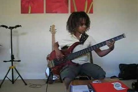 Yannick Koffi: Nine Year Old Bass Wonder