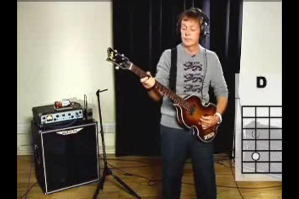 Paul McCartney Teaches You How to Play the Bass