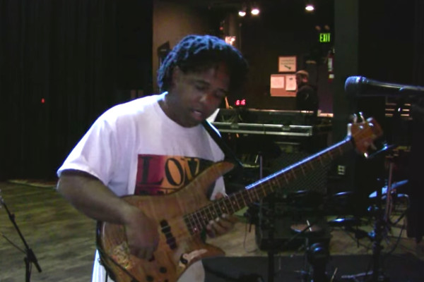"Victor Wooten Improvs ""Yesterday"""