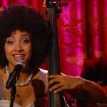 "Esperanza Spalding performing Stevie Wonder's ""Overjoyed"""