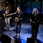 Jerry Garcia & Bob Weir with Will Lee: Letterman Rehearsal