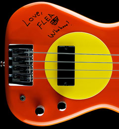 Flea Giving Away Signed Bass Through Charity Sweepstakes