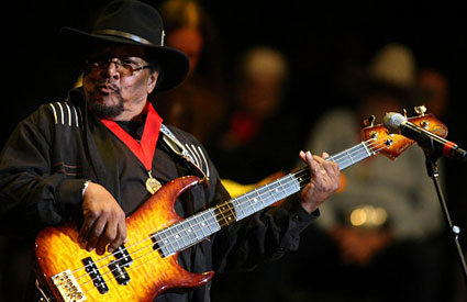 Billy Cox to Anchor Experience Hendrix 2011 Tour