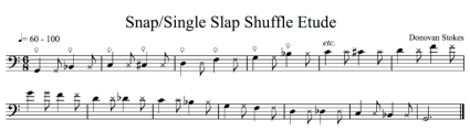 Fig. 4: Snap/Single Slap Shuffle (click to enlarge)
