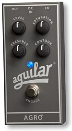 Gear Watch: Aguilar AGRO Bass Overdrive Pedal