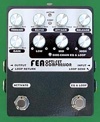 FEA Labs Opti-FET Compressor Pedal