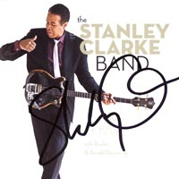 The Stanley Clarke Band (signed copy)