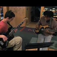 Victor Wooten and Felix Pastorius In Studio