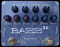 DDyna Music BASS10 Compressor Pedal