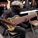 Regi Wooten Playing the Prat 12 String Bass