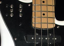 AweSome B-35 Bass Guitar switches