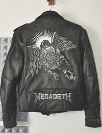 James LoMenzo's Custom Megadeth Jacket